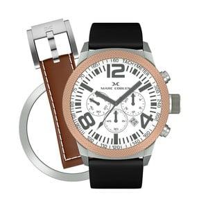 Dámske hodinky Marc Coblen s remienkom a krúžkom na ciferník naviac P70