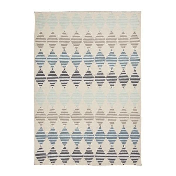 Ručne tkaný vlnený koberec Linie Design Rokko, 140x200cm