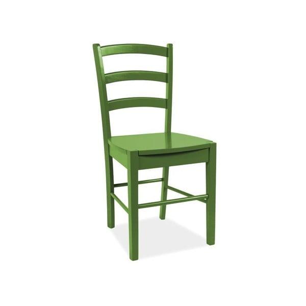 Jedálenská stolička CD-38, zelená