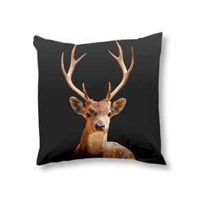 Obliečka na vankúš Deer Anthracite, 50x50 cm