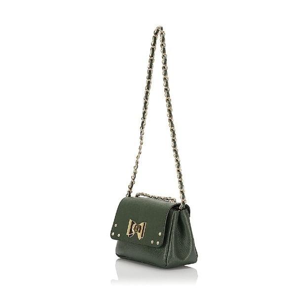 Kožená kabelka Giorgio Costa 15013 Green