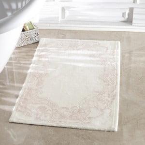 Kúpeľňová predložka Madame Coco Lucy Ecru, 40x60 cm