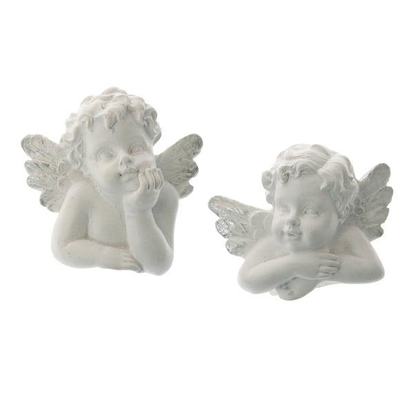 Sada 2 ozdôb na sviečku Angel