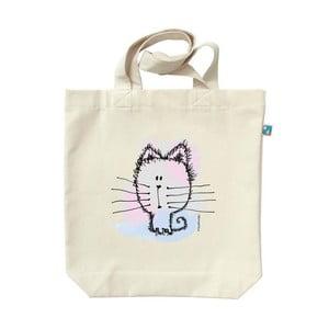 Plátenná taška Pastelové mačiatko