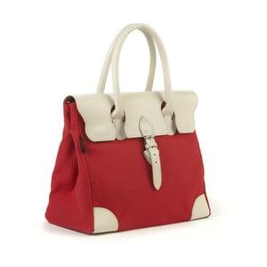 Bavlnená kabelka Garbo, červená