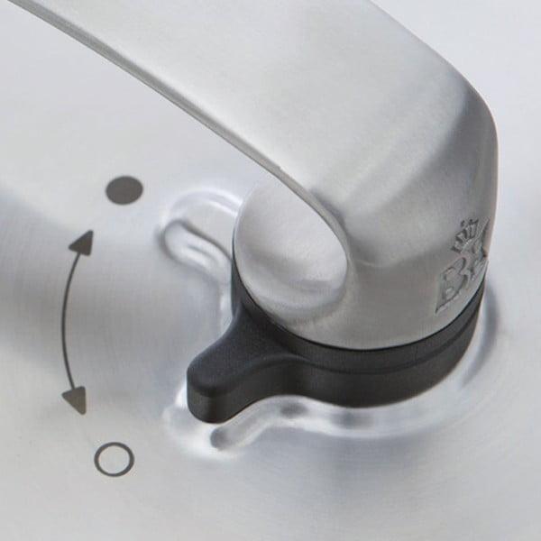 Panvica z nehrdzavejúcej ocele BK Chinese Wok Triply, 30 cm