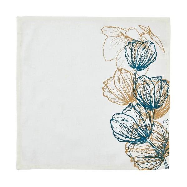 Sada 6 textilných obrúskov Papaver