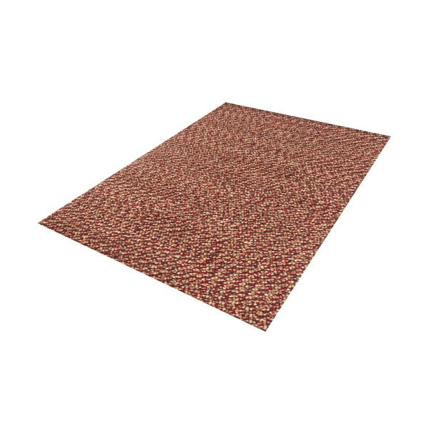 Vlnený koberec Monza Red, 70x140 cm