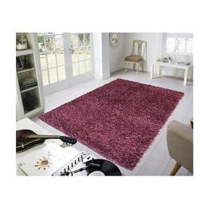 Vínový koberec Webtappeti Shaggy, 60 x 100 cm