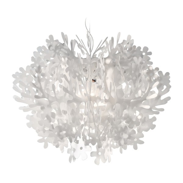 Stropné svetlo Fiorella White, 58 cm