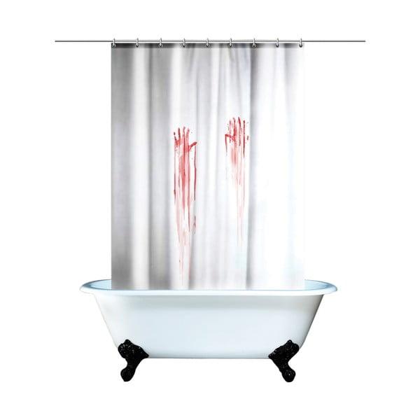 Hororový záves do sprchy