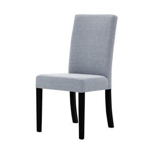 Sivá stolička s čiernymi nohami Ted Lapidus Maison Tonka