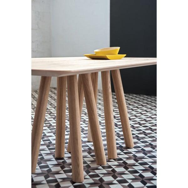 Jedálenský stôl  z masívu Mos-i-ko AL2, 180cm