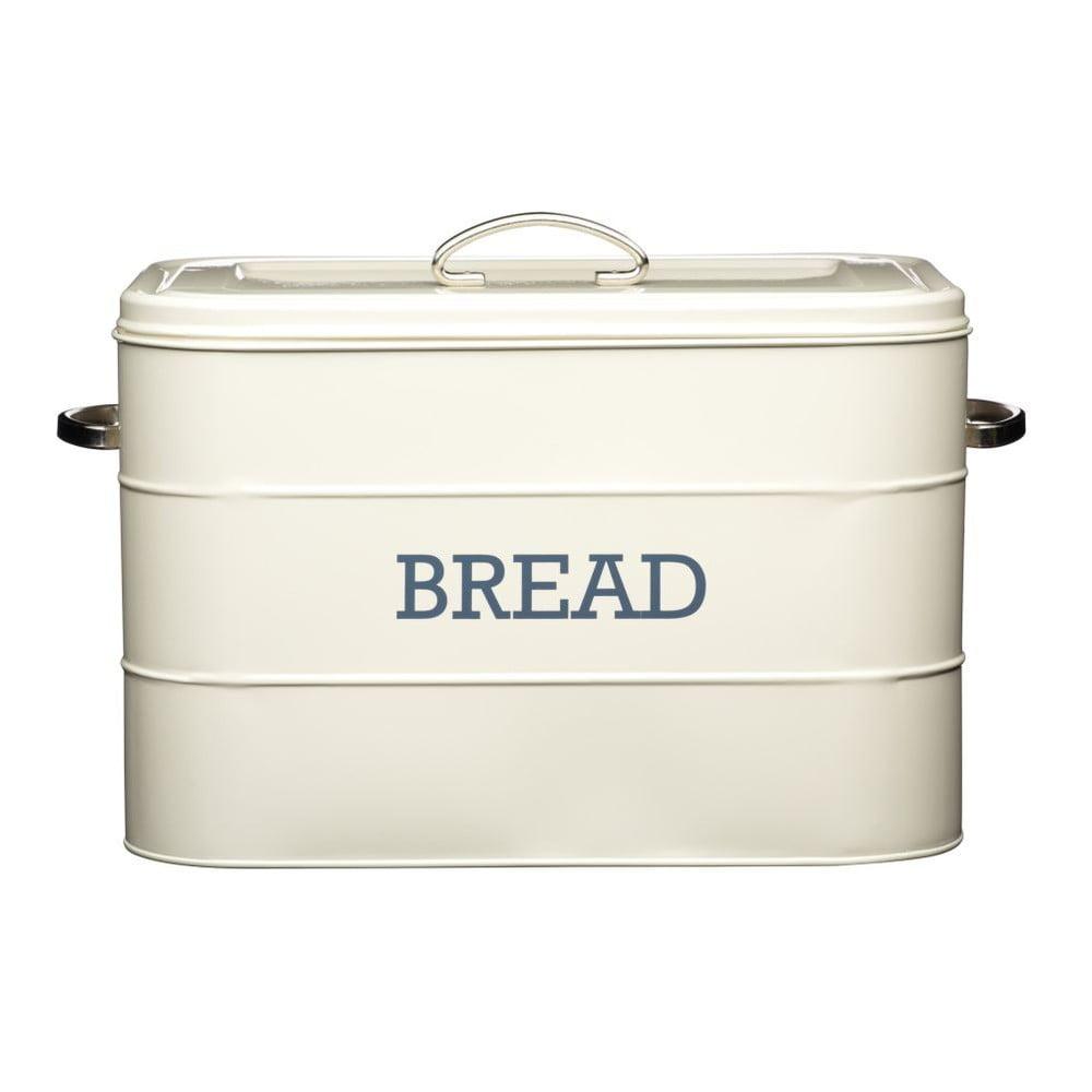 Krémová plechová dóza na chlieb Kitchen Craft Bread
