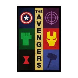 Plagát Avengers, 35x30 cm