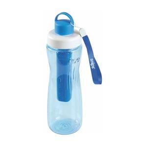 Modrá fľaša na vodu s chladiacim vnútrom Snips Cooling, 750 ml