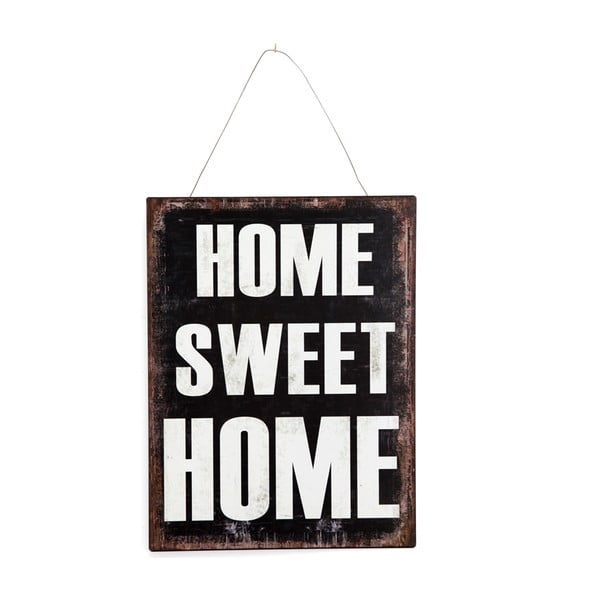 Ceduľa Metal Home Sweet Home