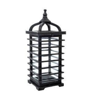 Lampáš Oriental Black, 19x19x52 cm