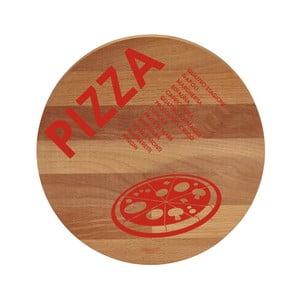 Lopárik z bukového dreva Bisetti Pizza, 30 cm
