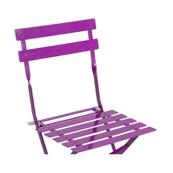 Skladacia stolička Avila Purple, 77x45x40 cm
