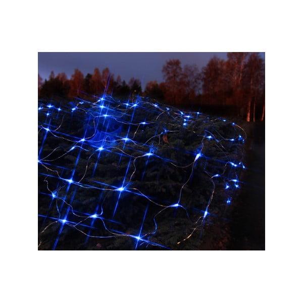 Svietiaca dekorácia Light Network Blue/Black, 2 m