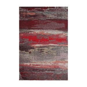Koberec Eco Rugs Red Abstract, 120×180 cm