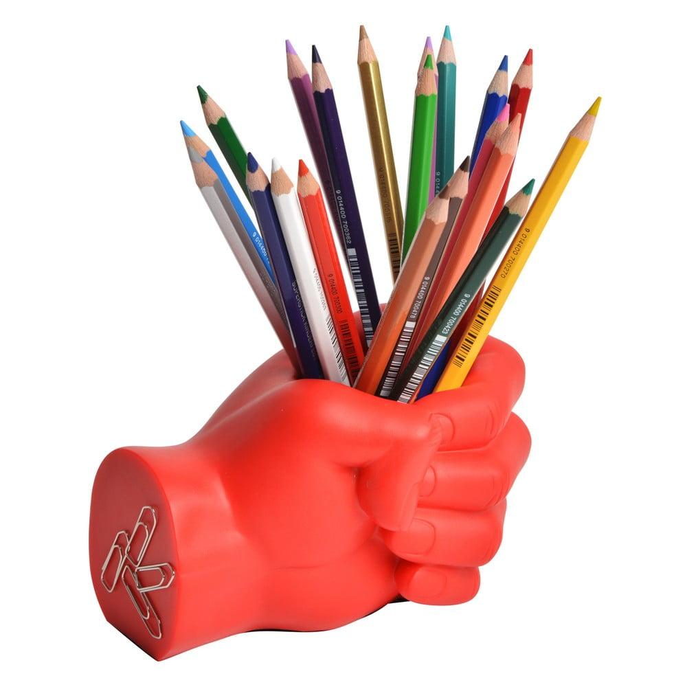 Červený stojan na ceruzky Le Studio