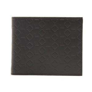 Čierna kožená pánska peňaženka Alviero Martini Basso Duro