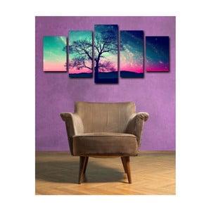 5-dielny obraz Tree Randon
