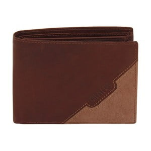 Hnedá kožená peňaženka Friedrich Lederwaren Cognac
