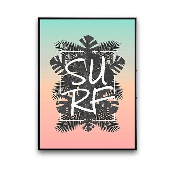 Plagát Surf, 30 x 40 cm