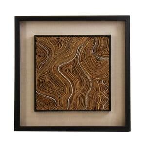 Obraz s rámom z borovicového dreva VICAL HOME Hendri