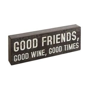 Dekorácia Bloque Good Friends