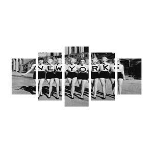 Viacdielny obraz Black&White NY Girls