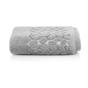 Sivý bavlnený uterák Maison Carezza Ciampino, 50×90 cm