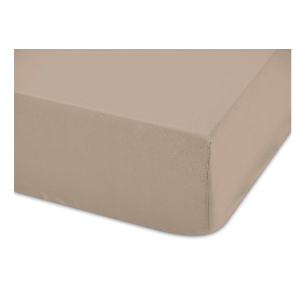 Hnedá bavlnená estetická plachta Boheme Basic, šírka 160 cm
