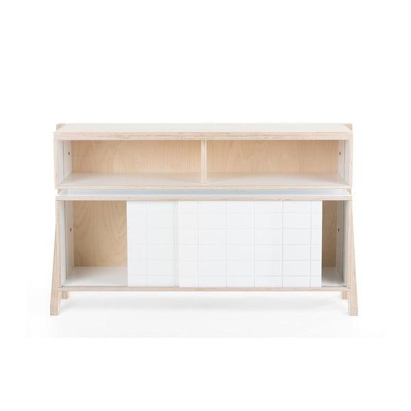Biela vyššia komoda rform Frame