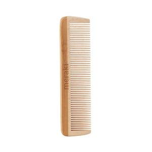 Hrebeň z javorového dreva s jemnými zubmi Meraki, dĺžka 12 cm