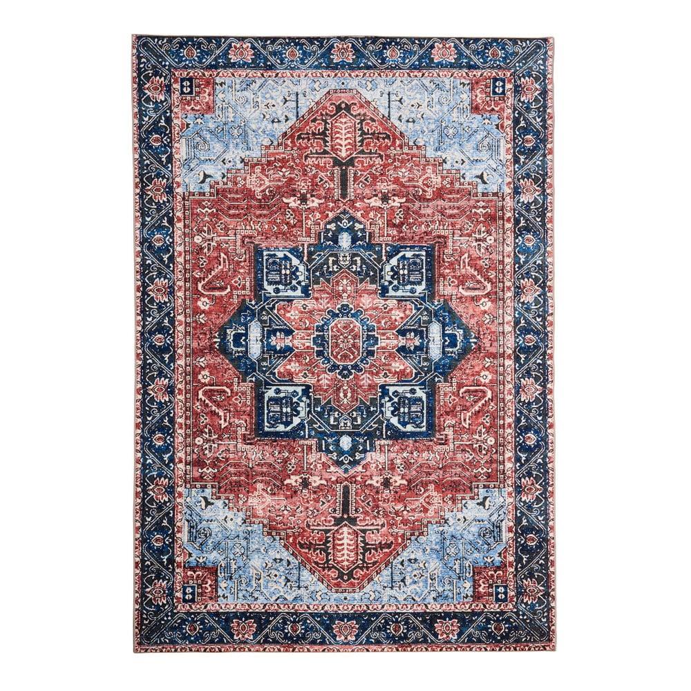 Koberec odolný voči škvrnám Floorita Classico Multi, 120 × 180 cm