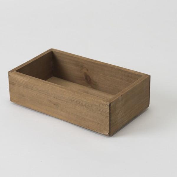 Drevený box Compactor Vintage Box, 14x24 cm