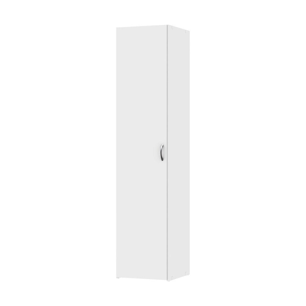 Biela šatníková skriňa Evegreen Houso Spark, výška 175,4 cm