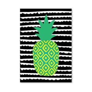 Plagát Striped Pineapple