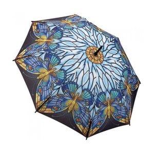 Dáždnik Art Collection, tiffany butterfly