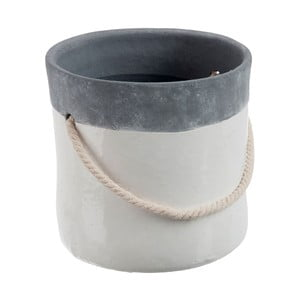 Kvetináč Grey Rope L