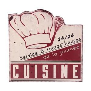 Nástenná ceduľa Cuisine Service