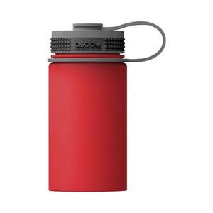Červená termofľaša značky Asobu Mini Hiker, 354 ml