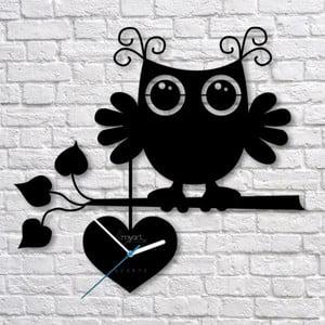 Nástenné hodiny Owl Clock