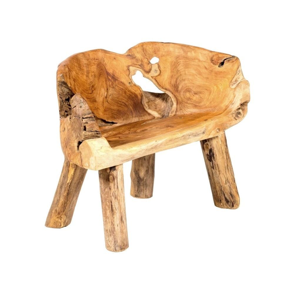 Záhradné kreslo z teakového dreva Massive Home Lisa Cole