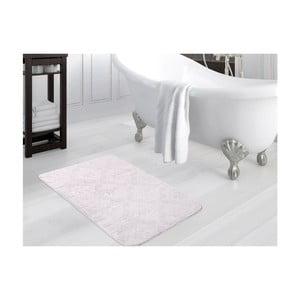 Svetlofialová kúpeľňová predložka Smooth, 80×140 cm