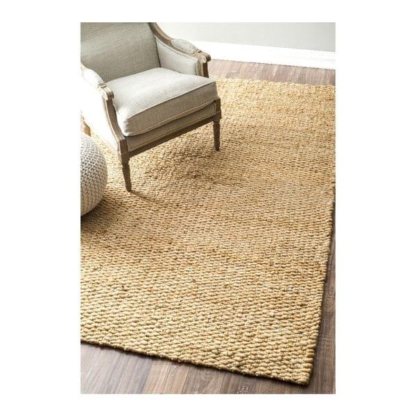 Ručne tkaný koberec nuLOOM Fluffy Natural,120x183cm
